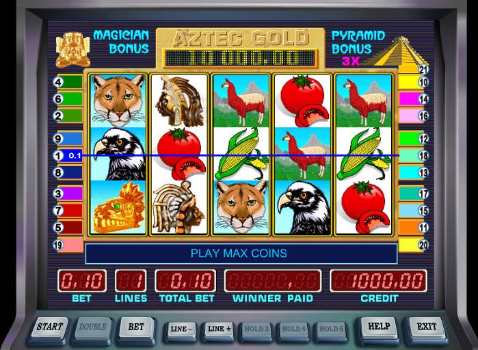 Игровые автоматы Пирамида бесплатно без регистрации
