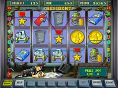 Игровой автомат Resident Сейфы, Резидент от Игрософт.
