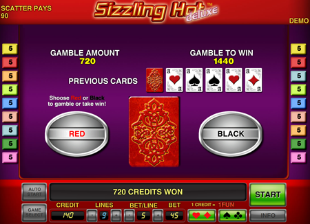 Автомат Sizzling Hot Deluxe - игра в Компот Делюкс