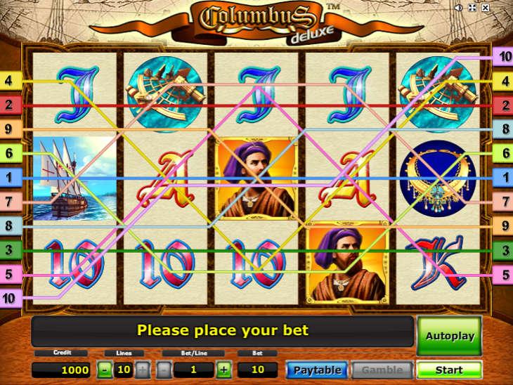 Игровой автомат Columbus играть бесплатно, без.